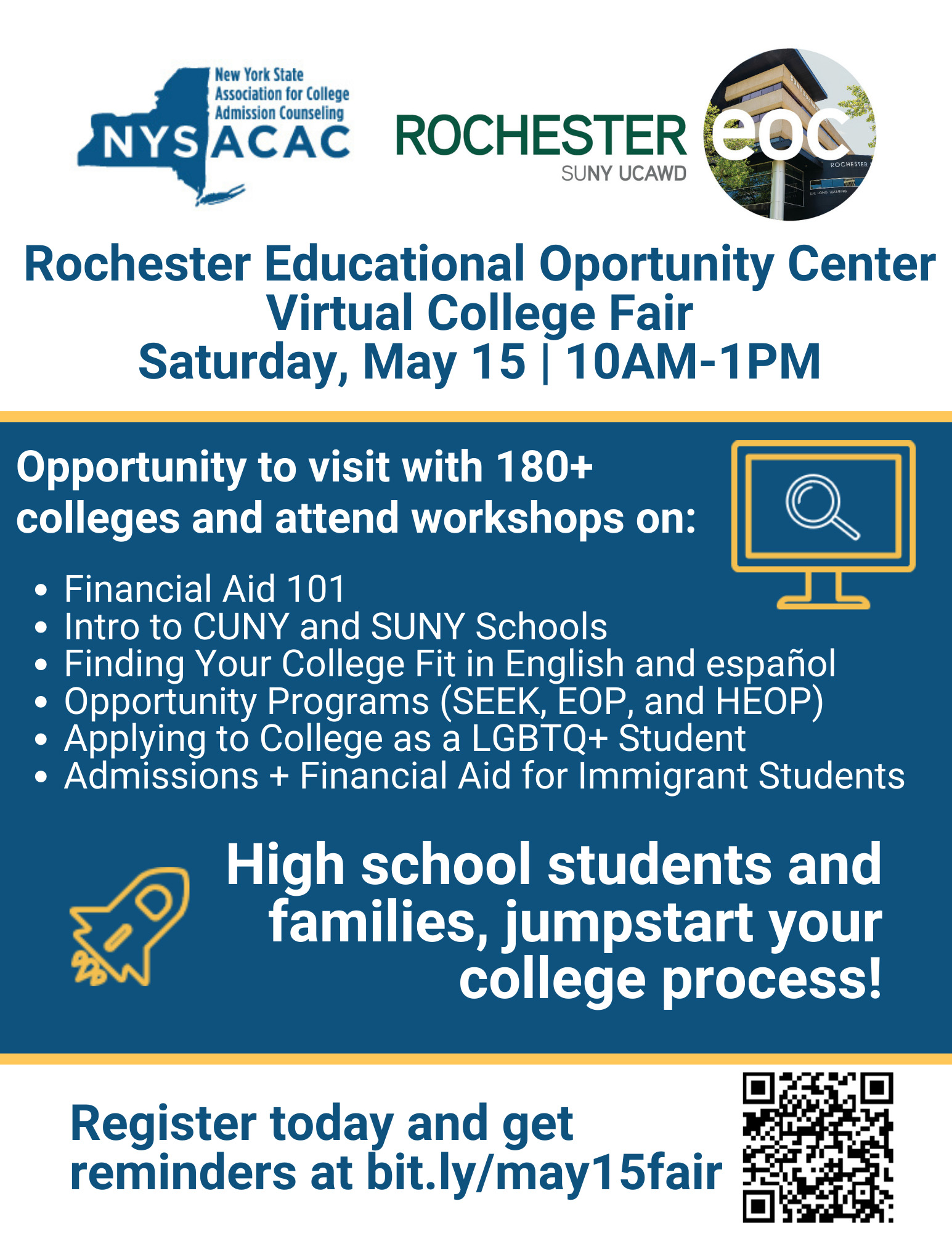 reoc, Homepage, Rochester Educational Opportunity Center